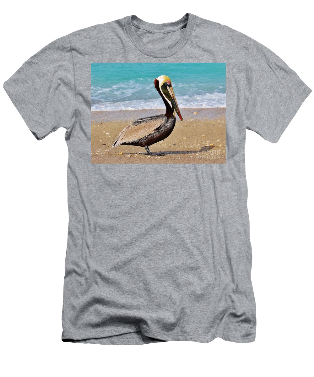 Kerisart Men's T-Shirt (Athletic Fit) featuring the photograph Sea Sick Sam by Keri West