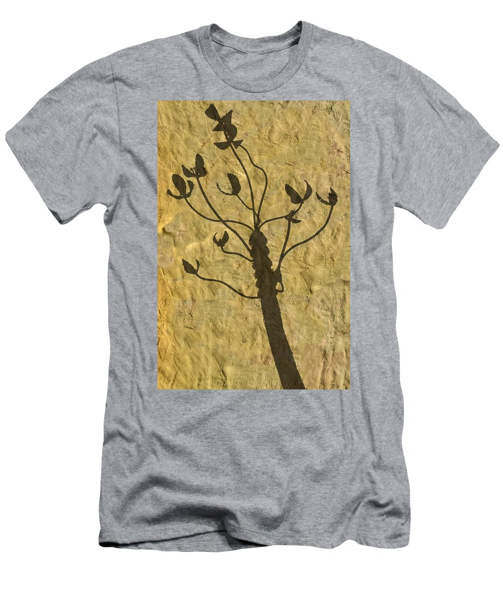 Photography Men's T-Shirt (Athletic Fit) featuring the photograph Shadow Of The Triffids by Paul Wear