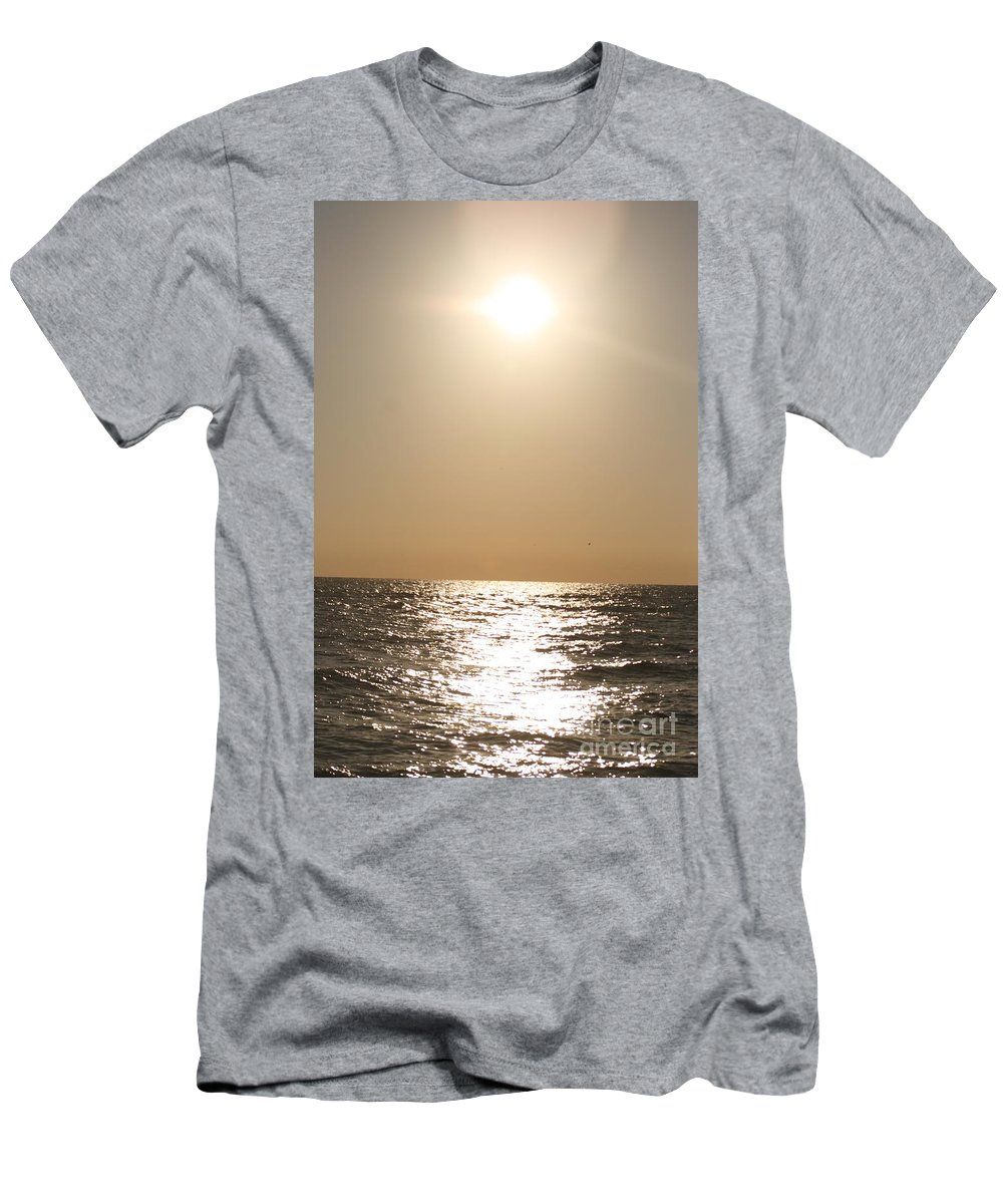 Silver Men's T-Shirt (Athletic Fit) featuring the photograph Silver And Gold by Nadine Rippelmeyer
