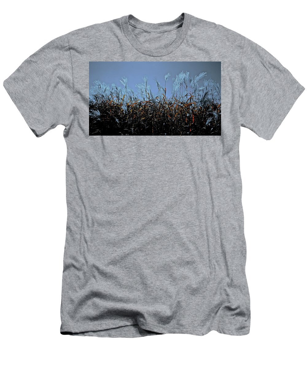 Nature Men's T-Shirt (Athletic Fit) featuring the photograph Silver And Gold by Tim G Ross