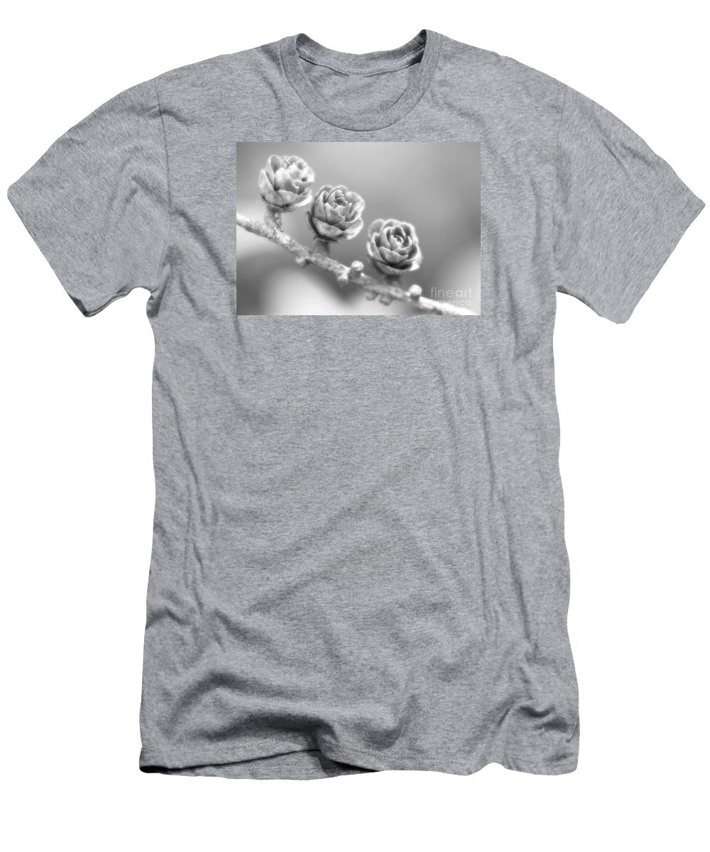 Festblues Men's T-Shirt (Athletic Fit) featuring the photograph Silver Lining.... by Nina Stavlund