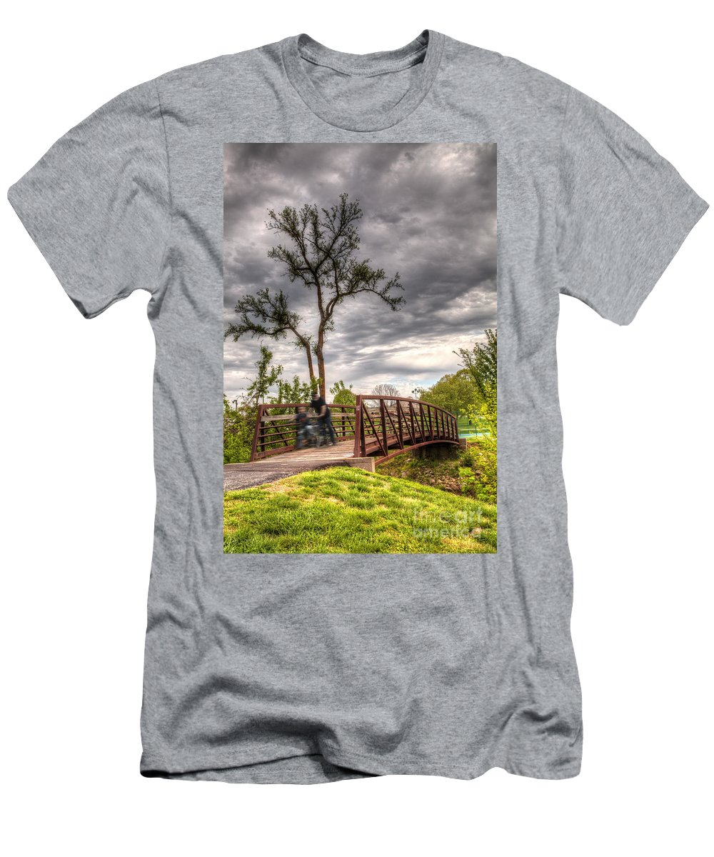 2014 Men's T-Shirt (Athletic Fit) featuring the photograph Speed Thrills by Larry Braun