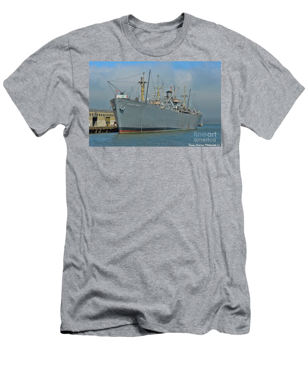 Ss Jeremiah O'brien Men's T-Shirt (Athletic Fit) featuring the photograph Ss Jeremiah O'brien -1 by Tommy Anderson
