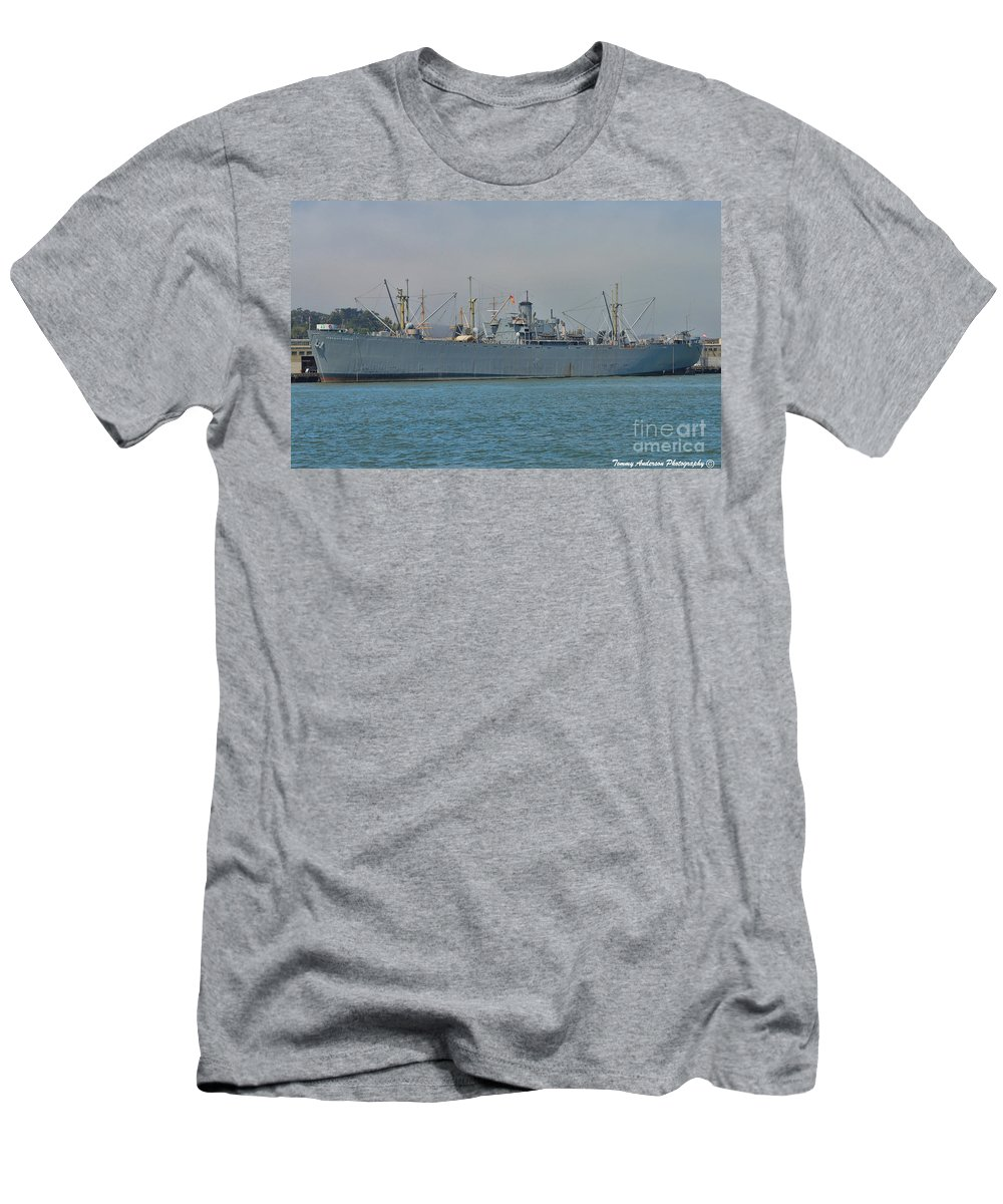 Ss Jeremiah O'brien Men's T-Shirt (Athletic Fit) featuring the photograph Ss Jeremiah O'brien -2 by Tommy Anderson