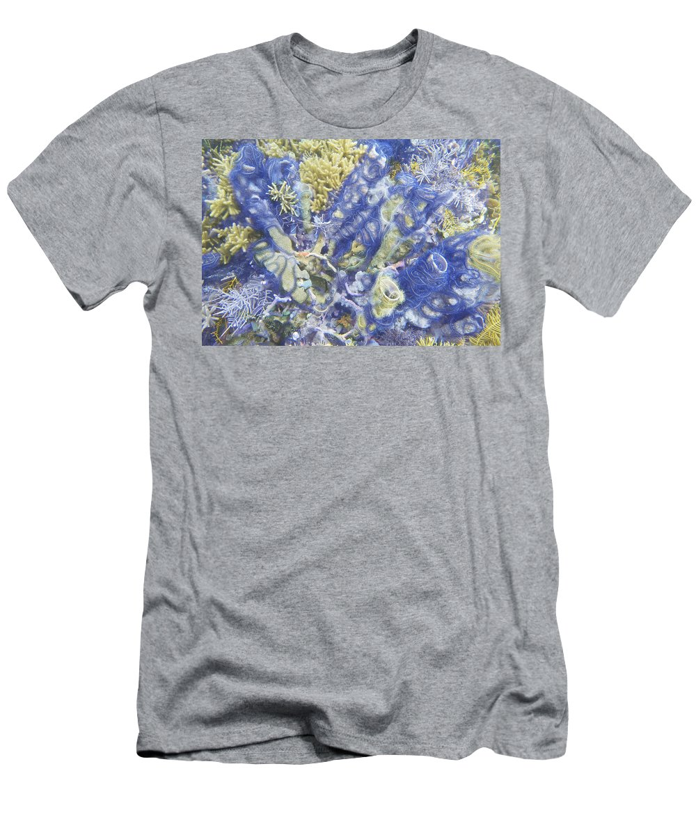 Ocean Men's T-Shirt (Athletic Fit) featuring the photograph Starburst by Terry Melius