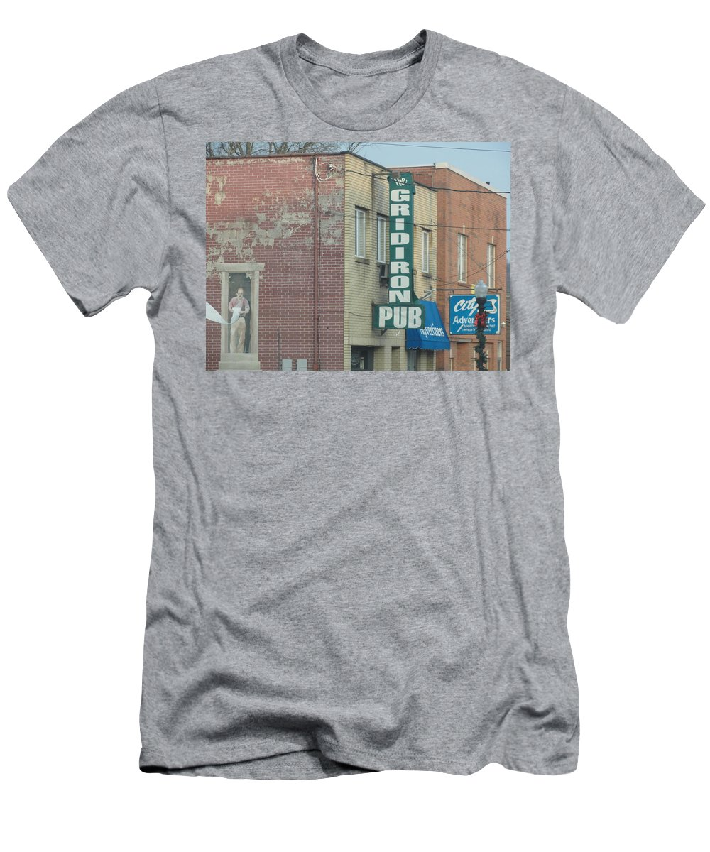 Men's T-Shirt (Athletic Fit) featuring the photograph Stop At The Local Pub by Stephanie Irvin