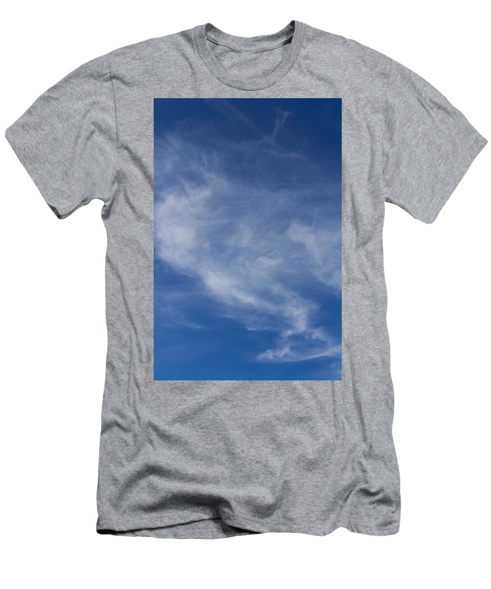 Sky Men's T-Shirt (Athletic Fit) featuring the photograph Summer by David Pyatt