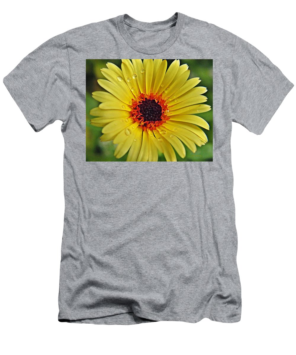 Men's T-Shirt (Athletic Fit) featuring the photograph Sun On A Rainy Day by Chris Berry