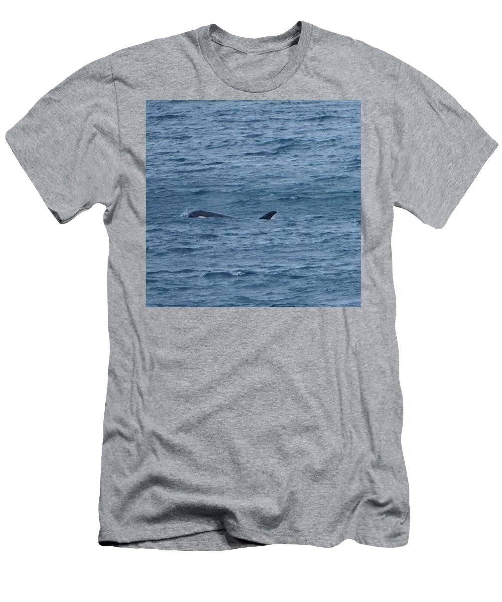 Men's T-Shirt (Athletic Fit) featuring the photograph Surfacing by Mark Ball