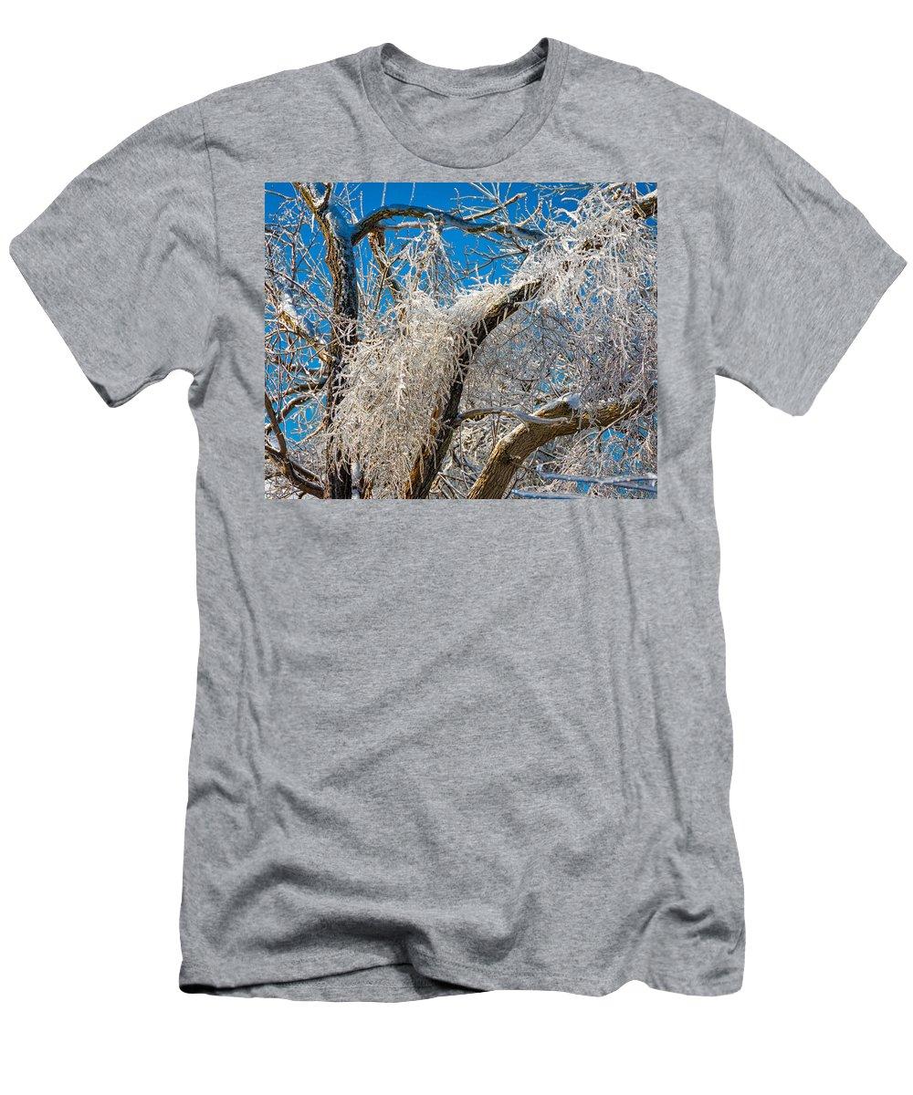 Steve Harrington Men's T-Shirt (Athletic Fit) featuring the photograph Survivor 2 by Steve Harrington