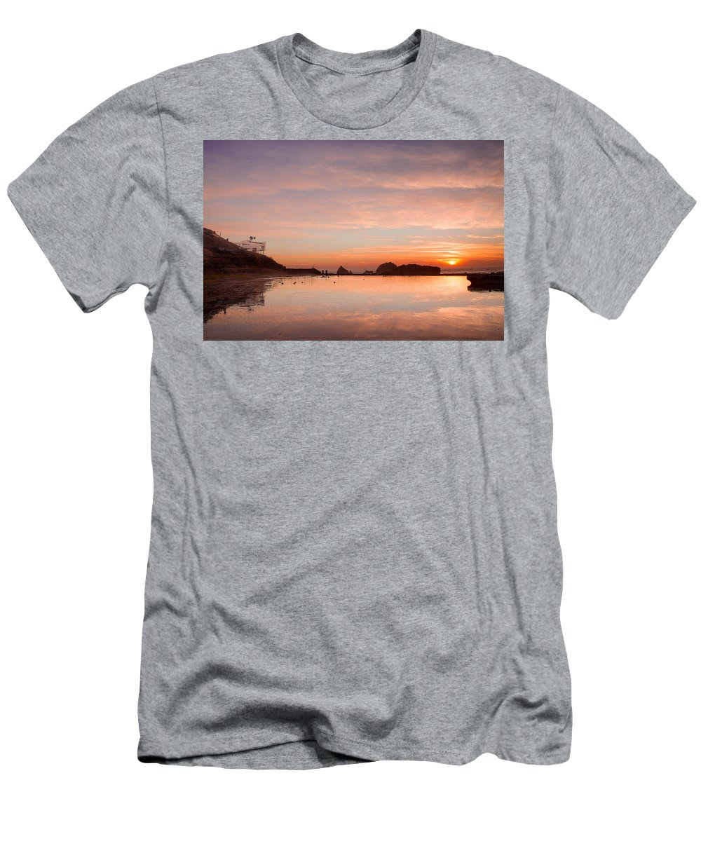 California Men's T-Shirt (Athletic Fit) featuring the photograph Sutro Baths by Kyle Simpson