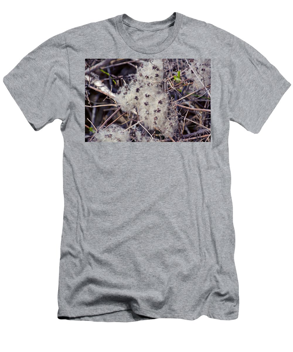 Twigs Men's T-Shirt (Athletic Fit) featuring the photograph Texture by Tikvah's Hope