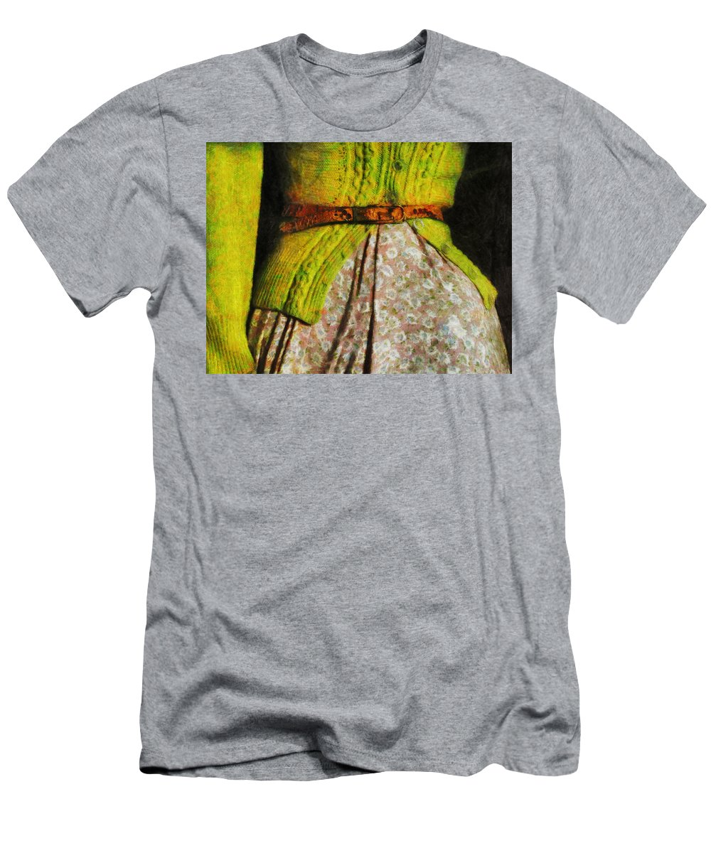 Belt Men's T-Shirt (Athletic Fit) featuring the photograph The Factory Worker by Steve Taylor