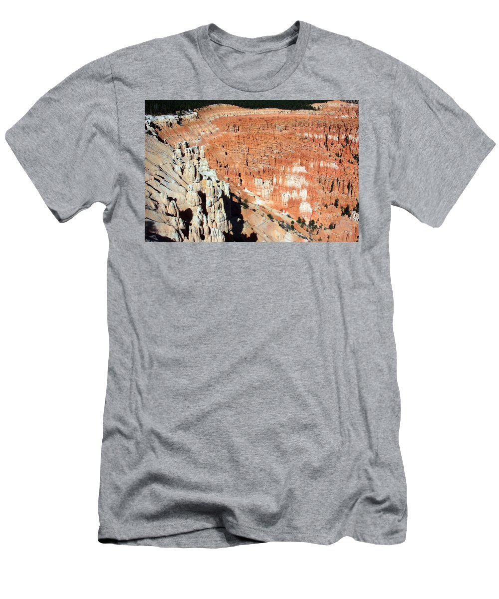 Utah Men's T-Shirt (Athletic Fit) featuring the photograph The Grotto At Bryce Canyon by Aidan Moran