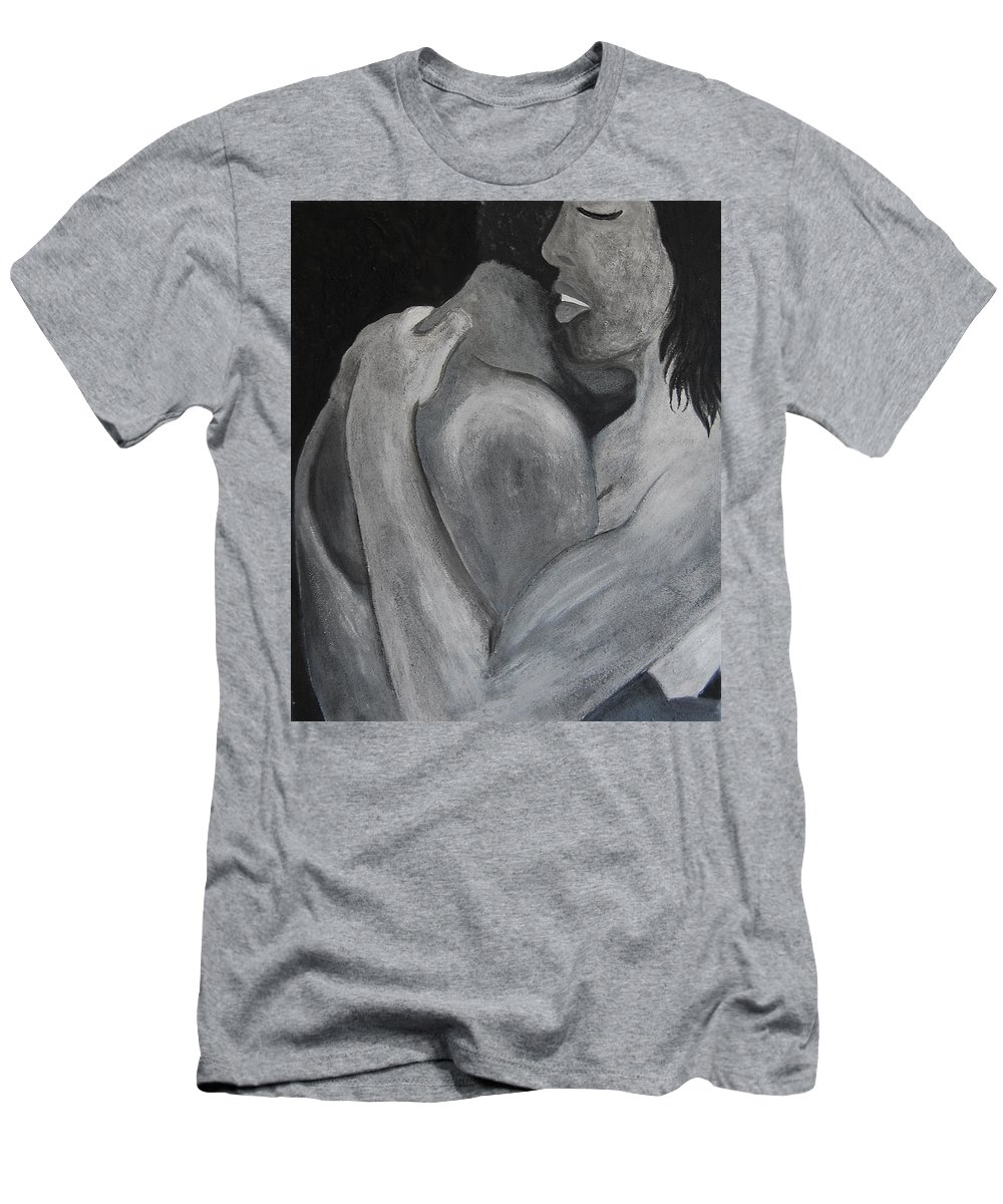 Repentance Men's T-Shirt (Athletic Fit) featuring the digital art Together by Gina Dsgn