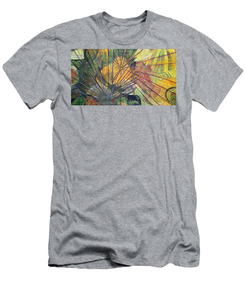 Village In China T-Shirt featuring the painting Tongli Town by Peggy Blood