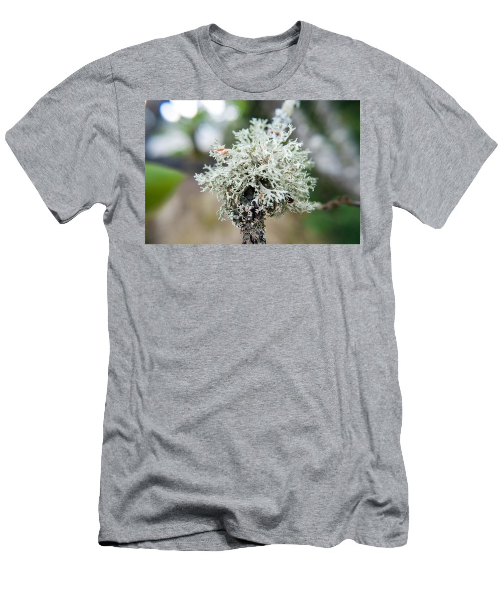Tree Men's T-Shirt (Athletic Fit) featuring the photograph Tree Moss 2 by Anna Burdette