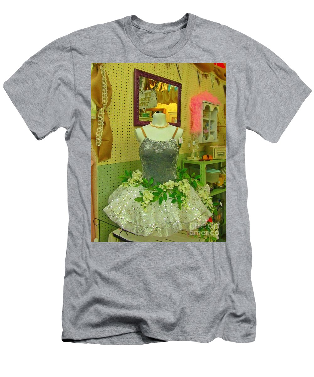 Tu Tu Men's T-Shirt (Athletic Fit) featuring the photograph Tu Tu by John Malone