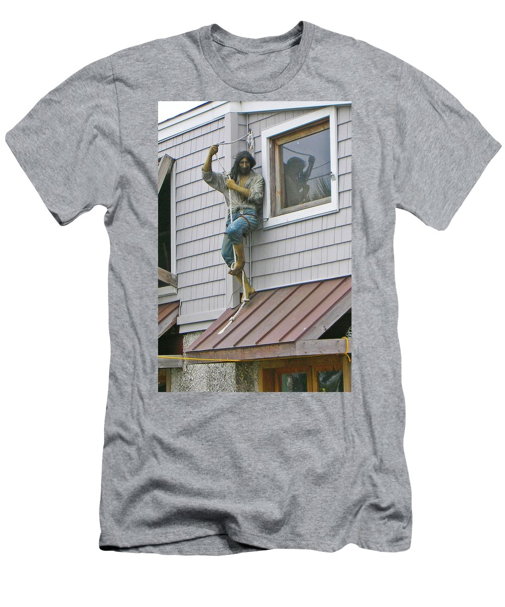 Guy Whiteley Men's T-Shirt (Athletic Fit) featuring the photograph Unexplained 0729 by Guy Whiteley