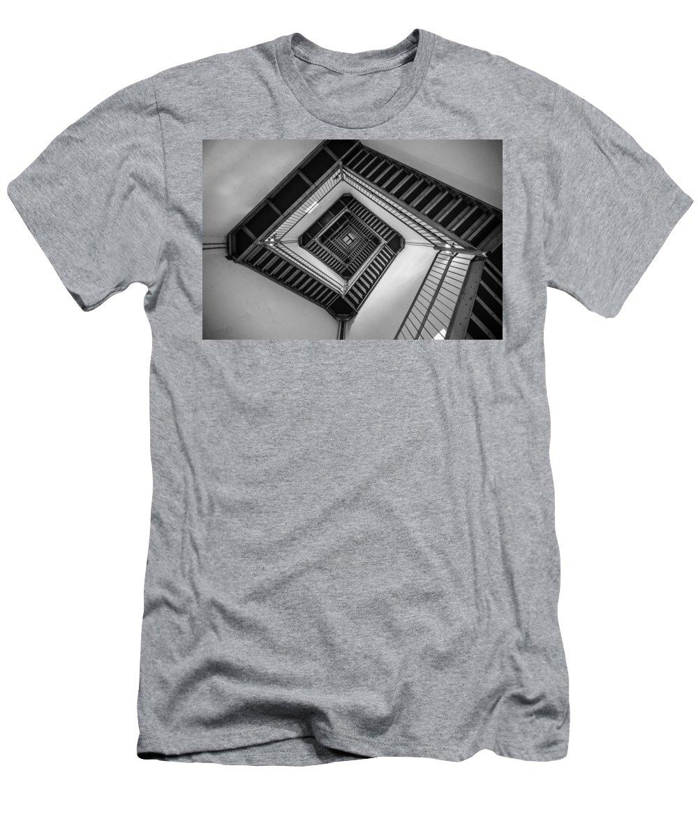 New Jersey Men's T-Shirt (Athletic Fit) featuring the photograph Vertigo by Kristopher Schoenleber