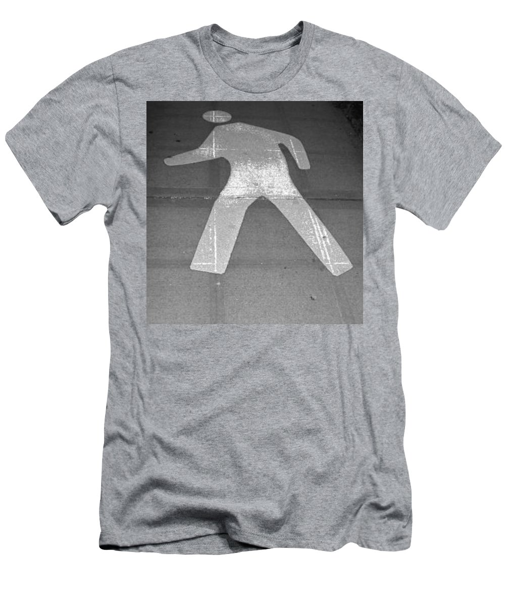 Walk Men's T-Shirt (Athletic Fit) featuring the photograph Walk by Stephanie Bland