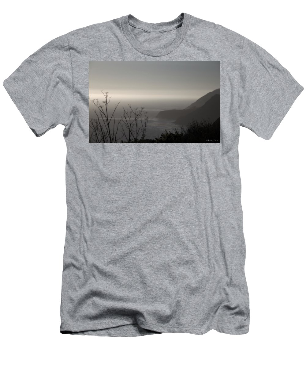 Western Light Men's T-Shirt (Athletic Fit) featuring the photograph Western Light by Ed Smith