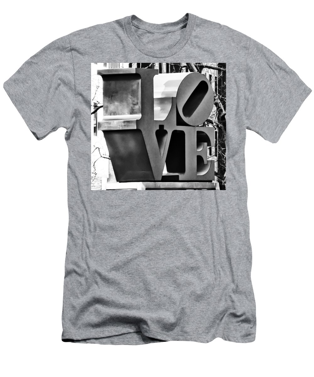 When Love Comes To Town Men's T-Shirt (Athletic Fit) featuring the photograph When Love Comes To Town by Bill Cannon