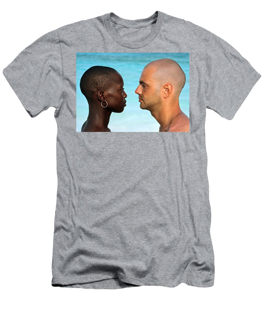 Man Men's T-Shirt (Athletic Fit) featuring the photograph Yin Yang by Skip Hunt