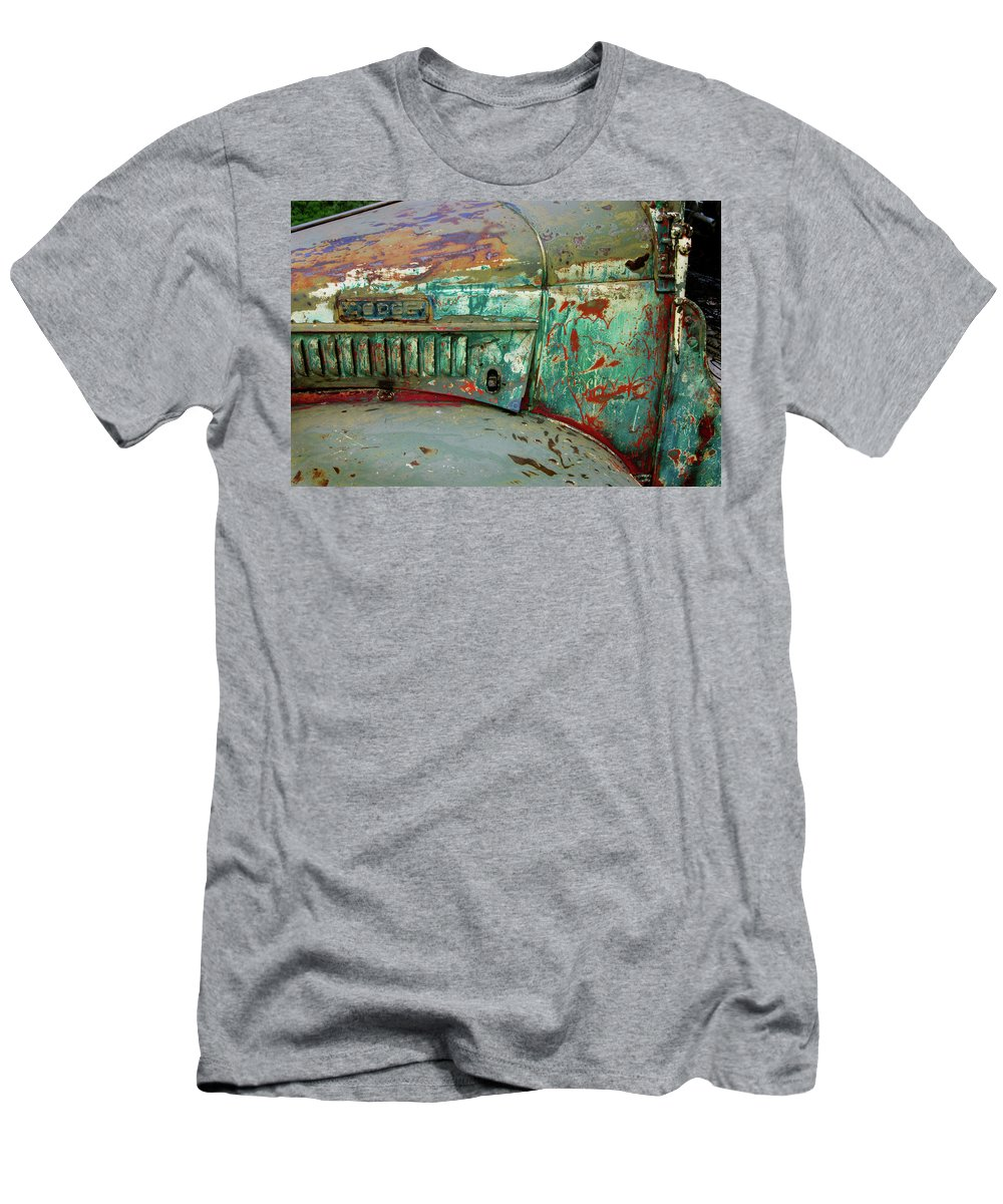 Dodge Men's T-Shirt (Athletic Fit) featuring the photograph Dodge by Ron Weathers