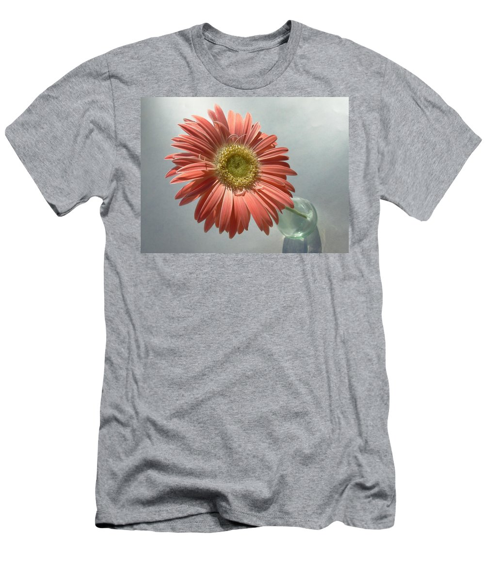 Gerbera Photographs Men's T-Shirt (Athletic Fit) featuring the photograph 0741c by Kimberlie Gerner