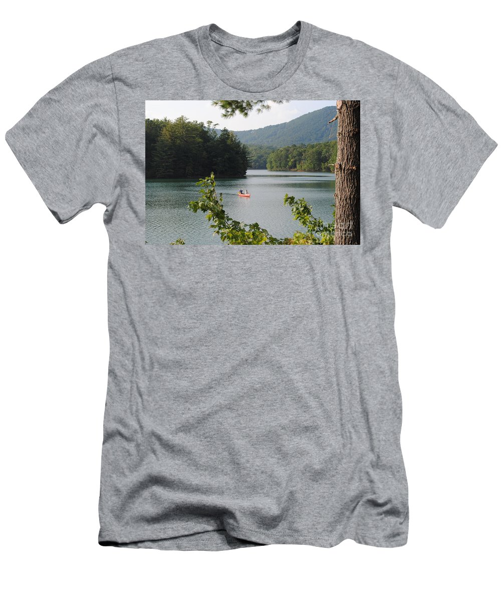 Big Men's T-Shirt (Athletic Fit) featuring the photograph Big Canoe by Jost Houk
