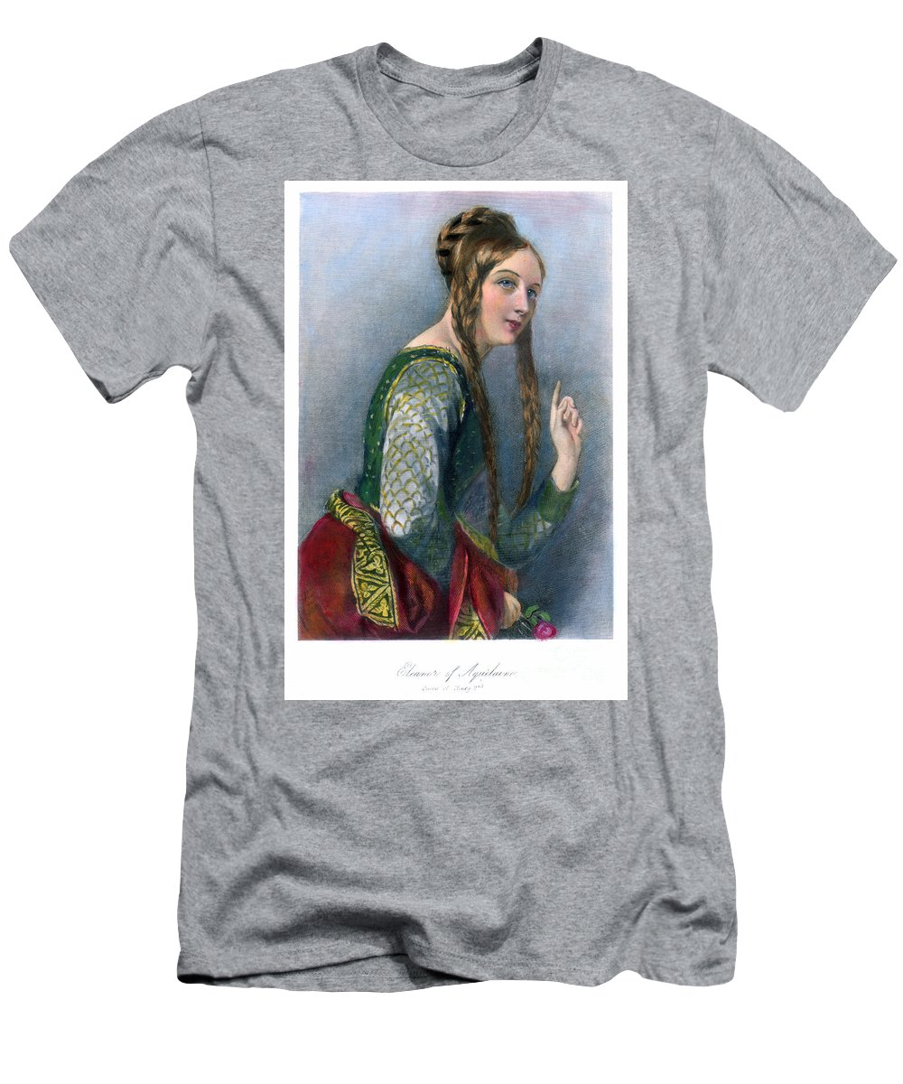 12th Century Men's T-Shirt (Athletic Fit) featuring the photograph Eleanor Of Aquitaine by Granger