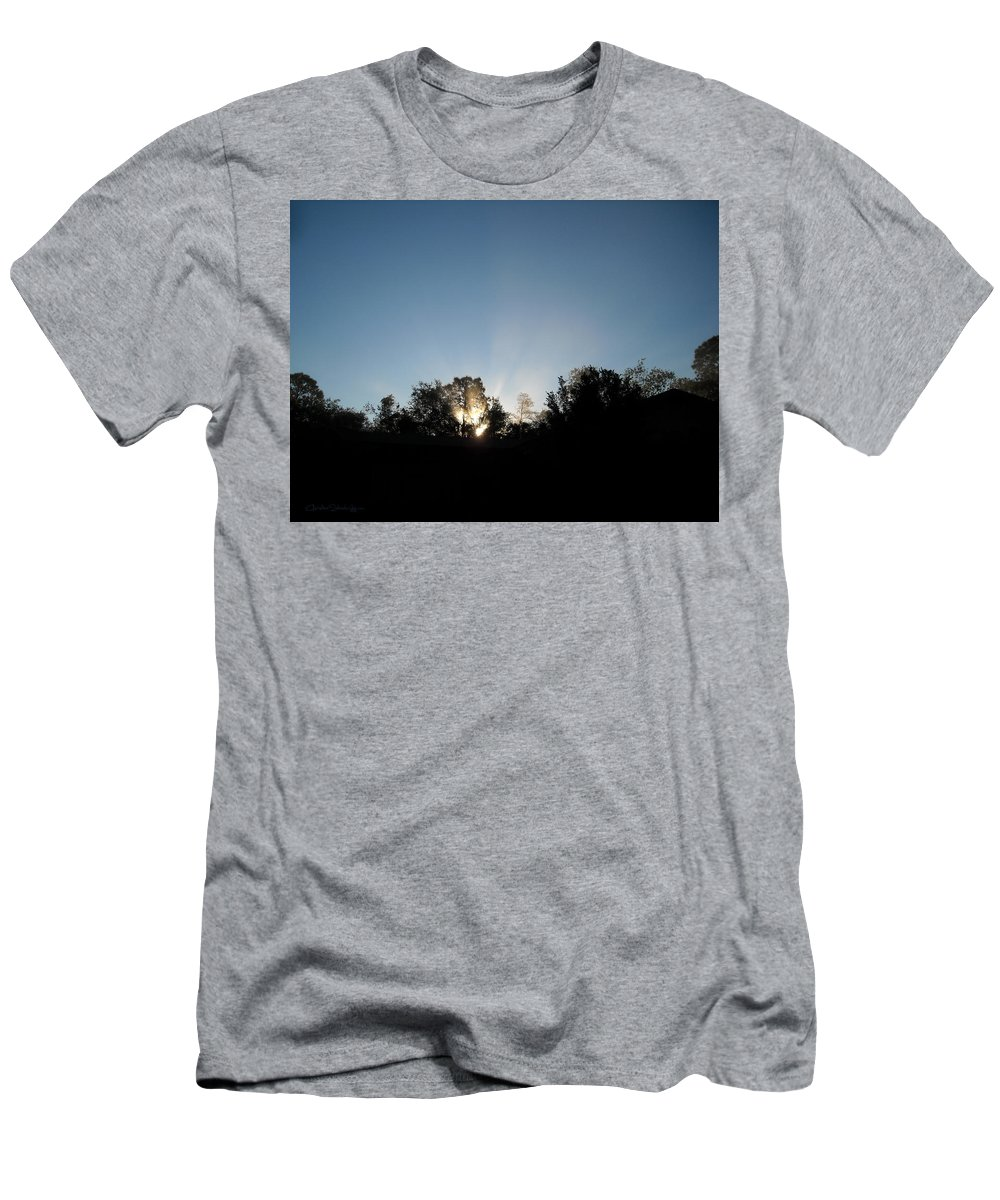 Silhouette T-Shirt featuring the photograph Home Sweet Home by Christine Stonebridge