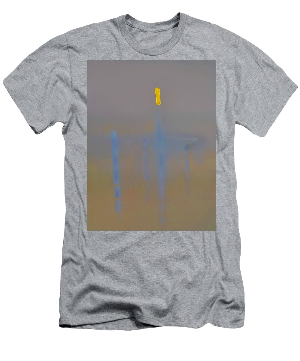 Venice Men's T-Shirt (Athletic Fit) featuring the painting Lagoon by Charles Stuart