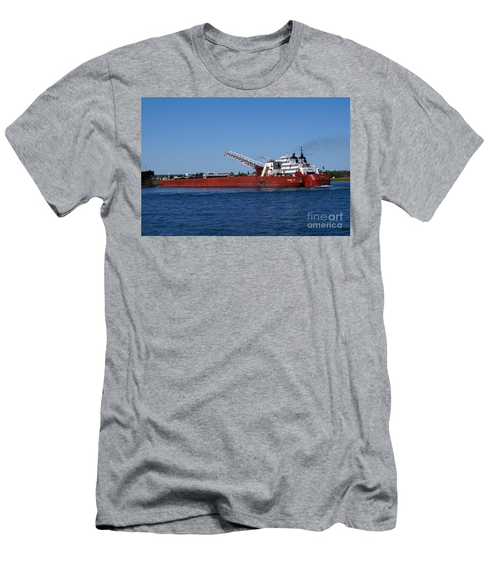 Duluth Men's T-Shirt (Athletic Fit) featuring the photograph Presque Isle by Lori Tordsen
