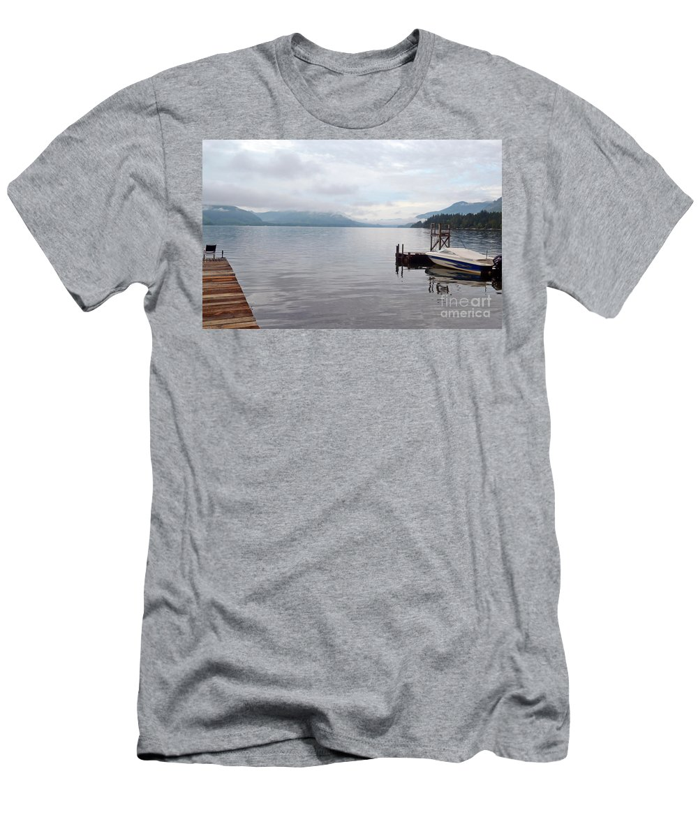 Ocean Men's T-Shirt (Athletic Fit) featuring the photograph Serenity by Traci Cottingham