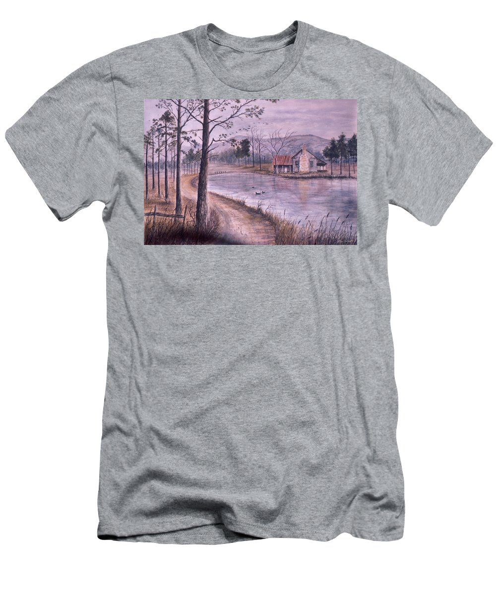Morning T-Shirt featuring the painting South Carolina Morning by Ben Kiger