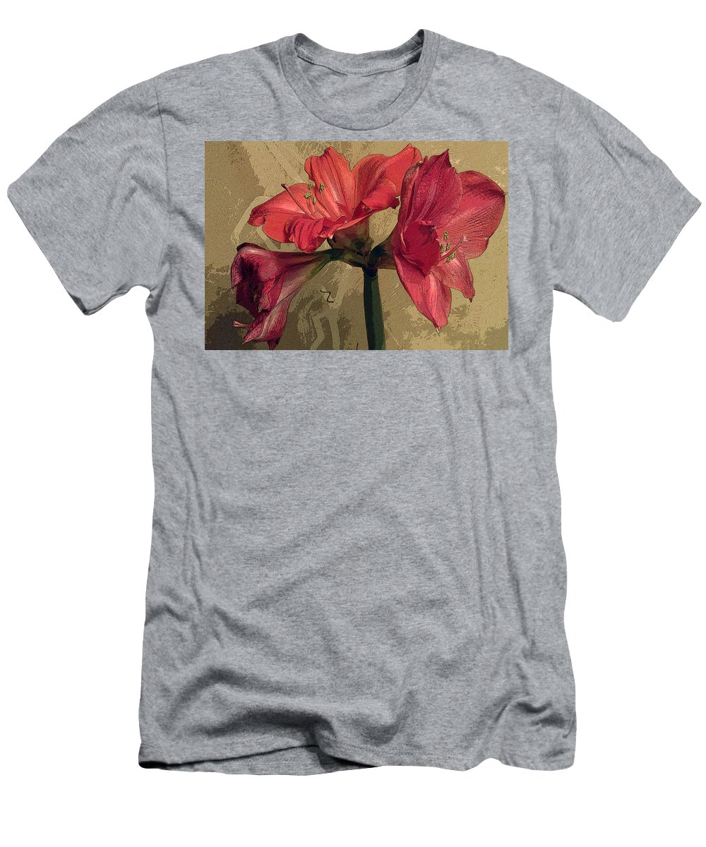 Three Men's T-Shirt (Athletic Fit) featuring the photograph Three by Ian MacDonald