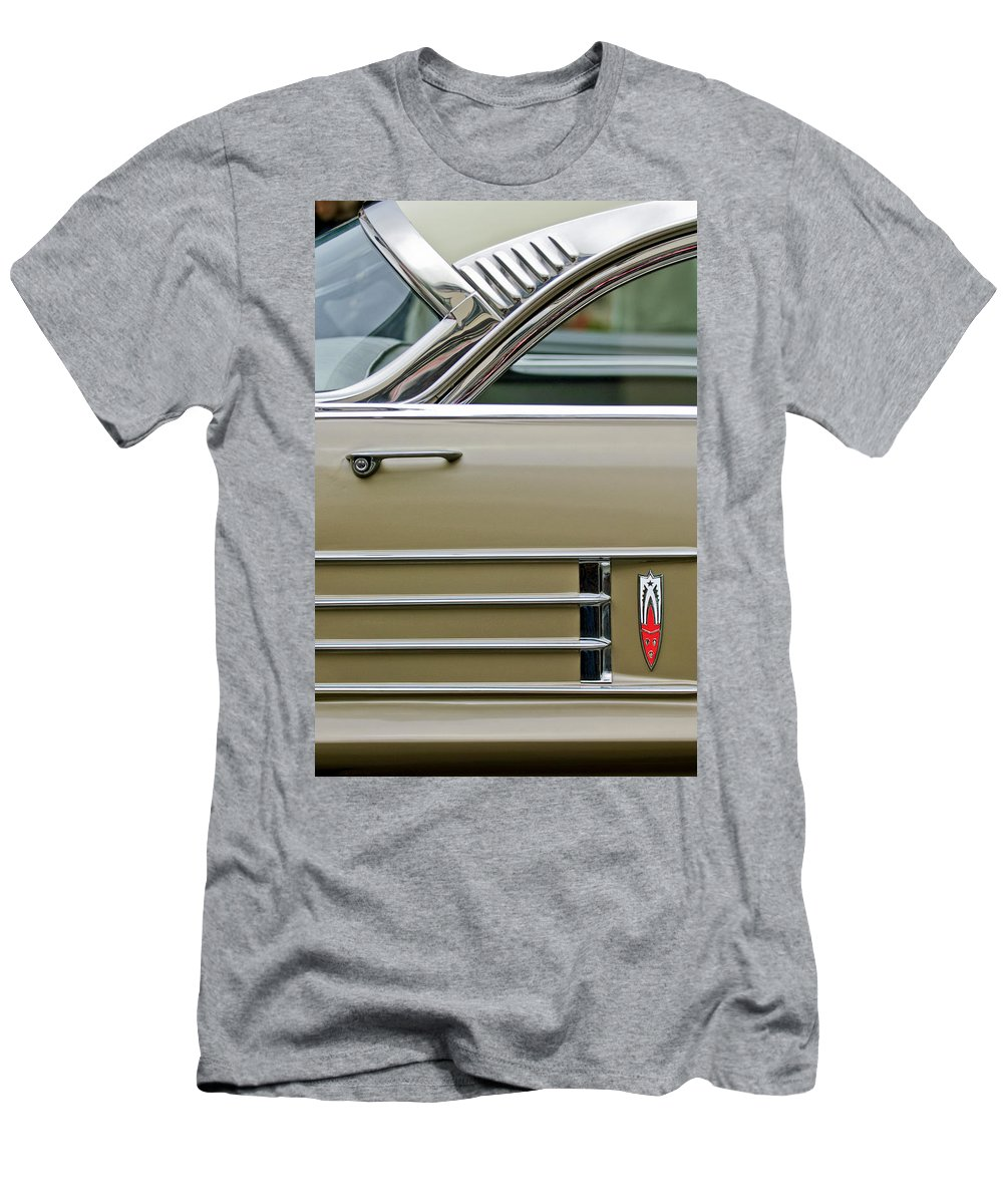 1958 Oldsmobile Men's T-Shirt (Athletic Fit) featuring the photograph 1958 Oldsmobile by Jill Reger