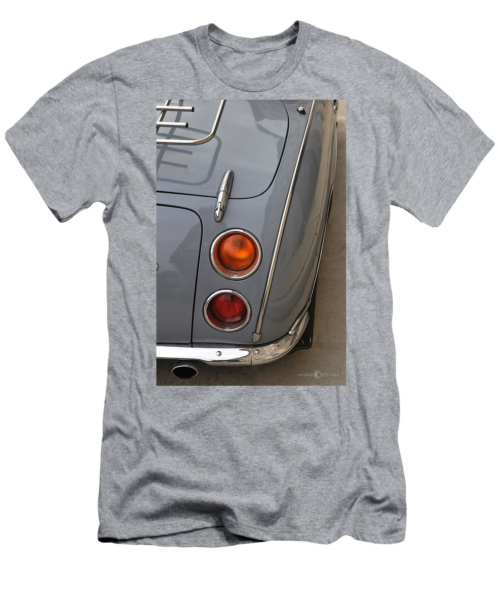 Nissan Men's T-Shirt (Athletic Fit) featuring the photograph 1991 Nissan Figaro Taillights by Tim Nyberg