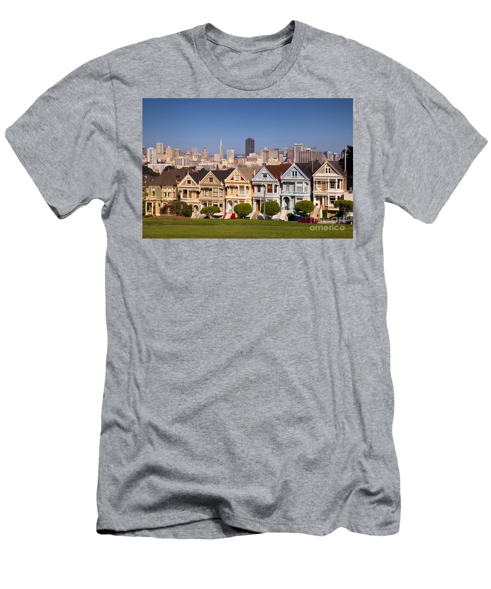 Painted Men's T-Shirt (Athletic Fit) featuring the photograph Painted Ladies by Brian Jannsen