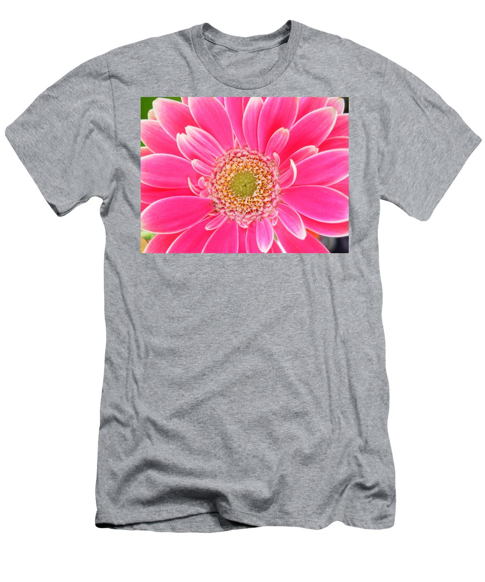 Gerbera Photographs Men's T-Shirt (Athletic Fit) featuring the photograph 2159 by Kimberlie Gerner