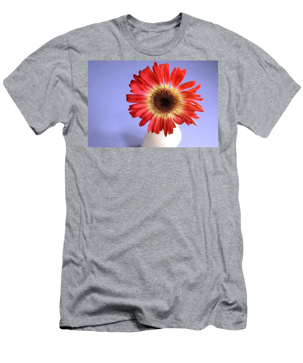 Gerbera Photographs Men's T-Shirt (Athletic Fit) featuring the photograph 2211c-004 by Kimberlie Gerner