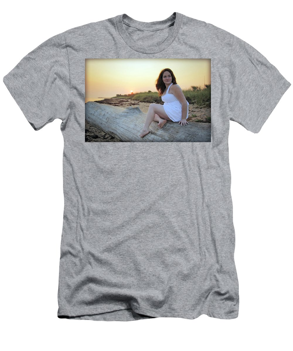Sunrise Men's T-Shirt (Athletic Fit) featuring the photograph Untitled by Rick Berk