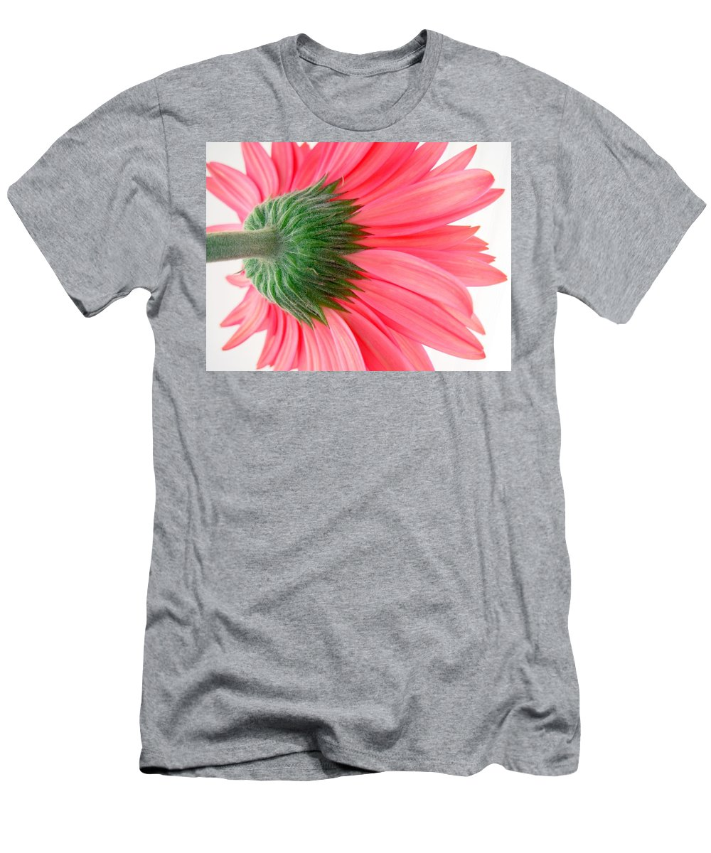 Gerbera Photographs Men's T-Shirt (Athletic Fit) featuring the photograph 557412c1 by Kimberlie Gerner