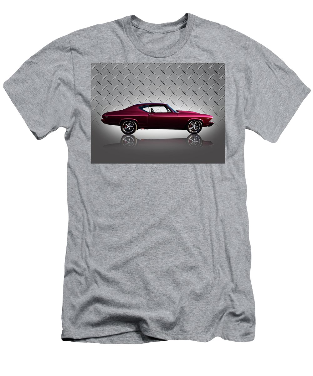 Classic Men's T-Shirt (Athletic Fit) featuring the digital art '69 Chevelle by Douglas Pittman
