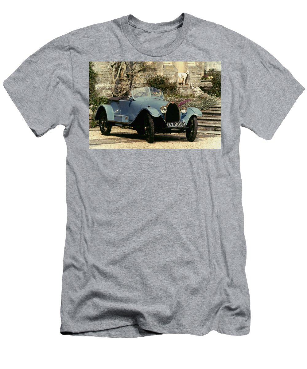 1925 Men's T-Shirt (Athletic Fit) featuring the photograph Auto: Bugatti Type, 1925 by Granger