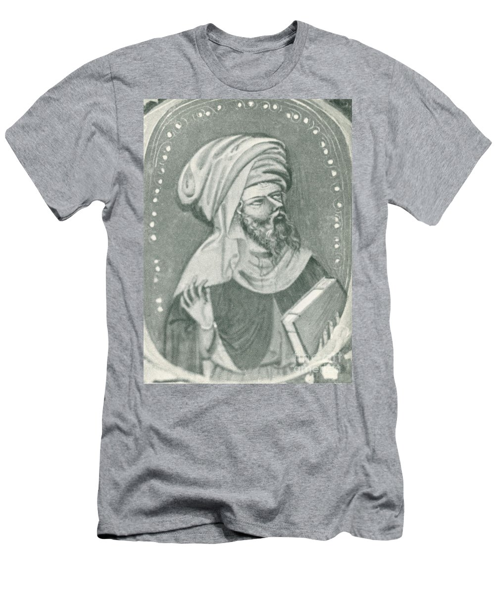 Historic Men's T-Shirt (Athletic Fit) featuring the photograph Averroes, Muslim Polymath by Science Source