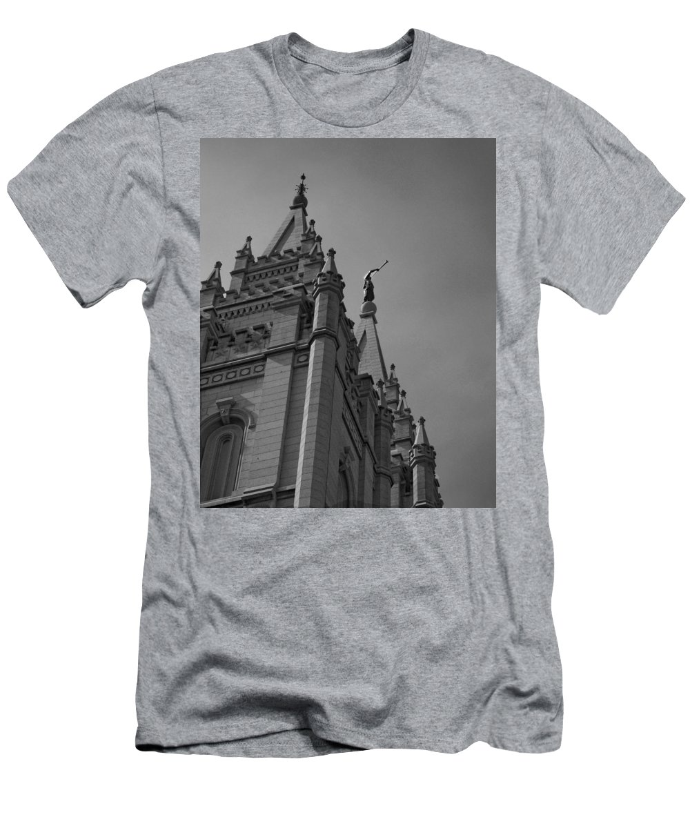 The Church Of Jesus Christ Of Latter-day Saints Men's T-Shirt (Athletic Fit) featuring the photograph Behold I Speak Unto You by Joshua House