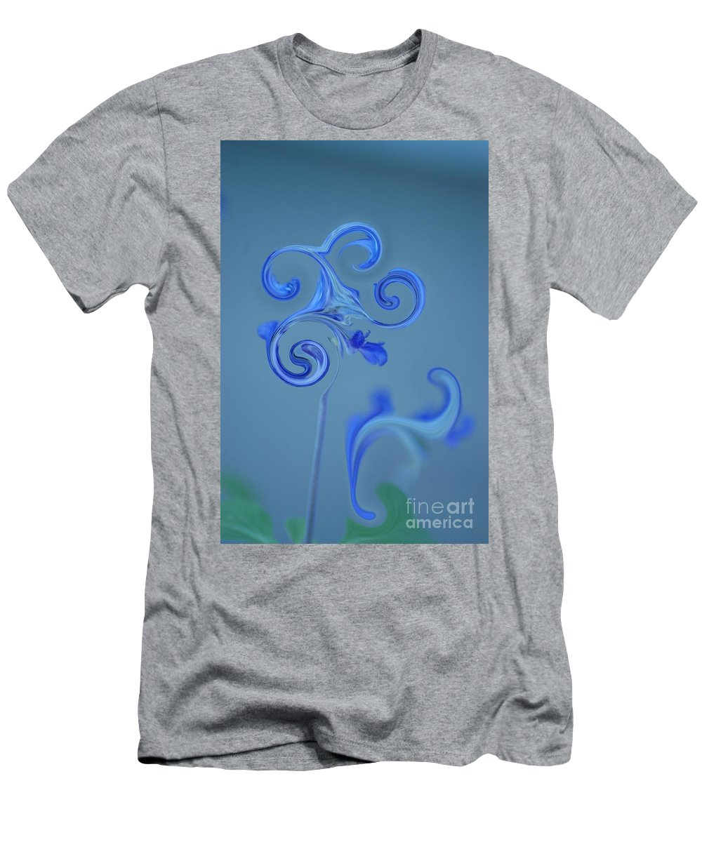 Blue Men's T-Shirt (Athletic Fit) featuring the photograph Blue Heaven by Donna Bentley